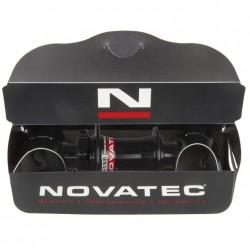Novatec mozzo MTB Downhill Disc ruota anter. R 32 fori asse passante 20 mm nero lucidato