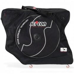 """SCICON borsa portabici AeroComfort 2.0 TSA per bici corsa + MTB 26"""" + 275 ''"""