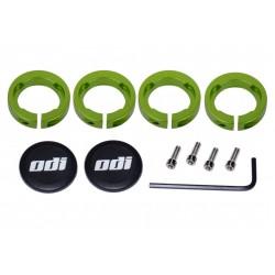 Odi anelli di chiusura Lock-On System 7mm green