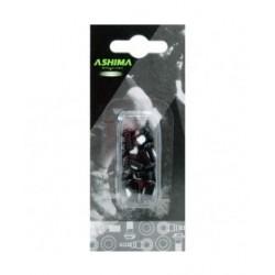 Ashima vite di fissaggio acciaio nere