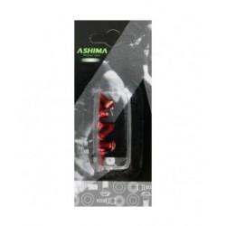 Ashima vite di fissaggio alluminio rosse