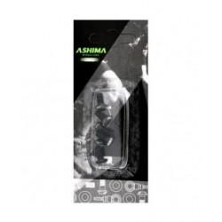 Ashima vite di fissaggio alluminio nere