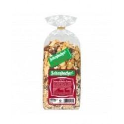 Seitenbacher Müsli Natural Body Power 500g miscelazione di fiocchi di avena e cereali integrali noci intere semi uva e mela