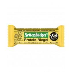 Seitenbacher barretta Protein-Riegel  conf. da 12x60g vaniglia copertura al ciocolato due porzioni