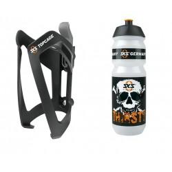 Bottle Kit SKS Portaborraccia Topcage Nero inclsuo Borraccia Large