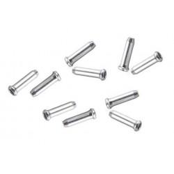 Set terminali per cavo freno e cambio confezione da 10 pezzi
