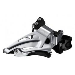 Deragliatore anteriore 2x10 velocità Shimano FD-M618 Low Clamp / Dual-Pull