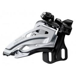 Deragliatore anteriore 2x10 velocità Shimano FD-M617 E-Type Side-Swing