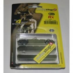 SwissStop Pastiglie per freni V-Brake RX Plus nero