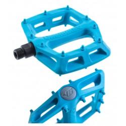 Pedali Flat DMR V6 blue