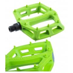 Pedali Flat DMR V6 green