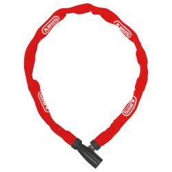Catena con lucchetto Abus 1500 Web rosso 60cm Security Level 3
