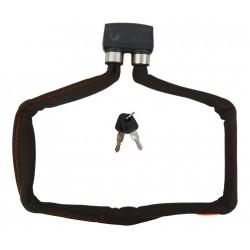 Lucchetto pieghevole Axa 800 Grigio scuro
