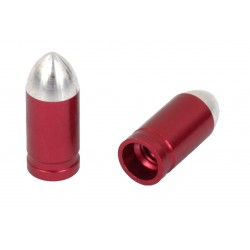 1 Paio Cappucci valvola Bullet SV rosso