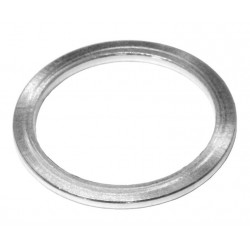 "Distanziale 1 1/8"" 2mm Alu argento"