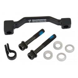 Adattatore Shimano anteriore (180mm) to 203mm SM-MA-F203P/PM