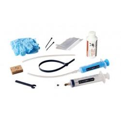 Kit manutenzione Bleedkit Premium Bleed Kit Premium + Brake Fluid RED for Shimano brakes