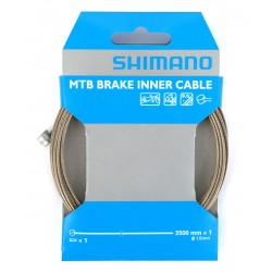 Shimano MTB Brake Inner Cable Stainless Steel 1.6 x 3500 mm Tandem