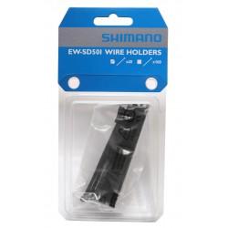 Fascette di supporto cavo Shimano Di2 EW-SD50 (20 pezzi)