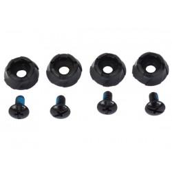 Northwave Tacchette di ricambio per scarpe NW-MTB 4 pezzi nere