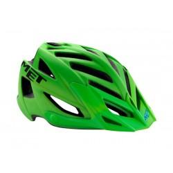 Casco MTB Met Terra verde fluo