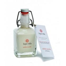 PIRANSKE SOLINE, Körperpflege, Körpermilch,  ohne Aromen, enthält Glyzerin und natürliche pflanzliche Öle - Mandelöl, Jojobaöl,