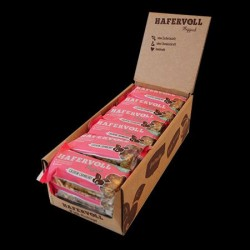 Hafervoll Flapjacks cashew-cranberry