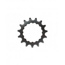 """KMC, Pignoni, E-Bike, Bosch, per Active e Performance Line, 15z, 11/128"""", materiale: Chromoly, colore: nero"""