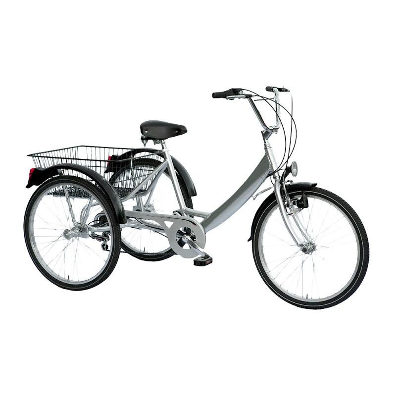 Ver Tek Bici Elettrica 20 Tre Ruote Argento