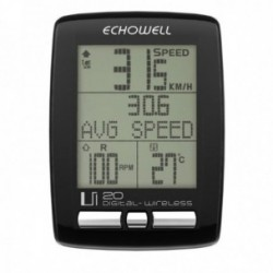 ECHOWELL CICLOCOMPUTER UI WIRELESS + RPM