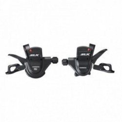 Comandi cambio destro e sinistro SHIMANO SLX 2/3x10 velocità Push-Pull