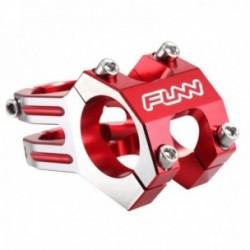 FUNN ATTACCO MANUBRIO FUNNDURO 31,8X45mm ROSSO