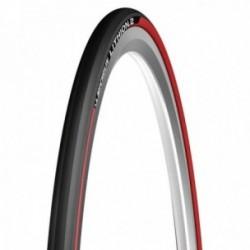 Pneumatico Michelin LITHION 2 V2 700x23 pieghevole Mono Compound rosso
