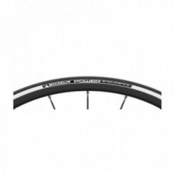 Pneumatico Michelin POWER ENDURANCE 700x23 pieghevole X-MILES bianco