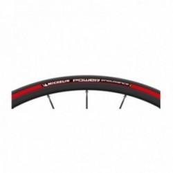 Pneumatico Michelin POWER ENDURANCE 700x23 pieghevole X-Miles nero/rosso