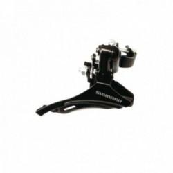 Deragliatore anteriore SHIMANO TZ30 28.6mm Top Pull nero