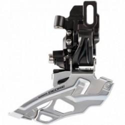 Deragliatore anteriore SHIMANO DEORE 2x10 velocità Direct Mount Down Pull nero