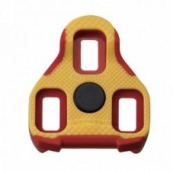 Tacchette Exustar KEO antiscivolo oscillazione 7 rosso