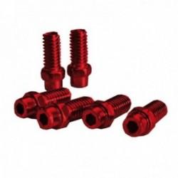 Kit pin sostituivi Exustar pedale 8mm Freerider rosso confezione da 40 pezzi