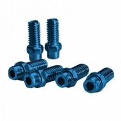 Kit pin sostituivi Exustar pedale 8mm Freerider confezione da 40 pezzi blu