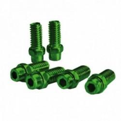 Kit pin sostituivi Exustar pedale 8mm Freerider confezione da 40 pezzi verde