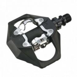 Pedali Exustar MTB E-PM816 100x95mm in termoplastica nero