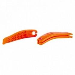 SUPER B caccia copertoni in nylon rinforzato arancione confezione da 3 pezzi