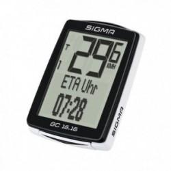 Sigma Sport, Computerini, BC 16.16, con filo, funzioni bici: velocità attuale, velocità media, durata percorso, velocità massim