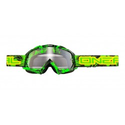 Maschera O'Neal B-Flex HENDRIX verde clear