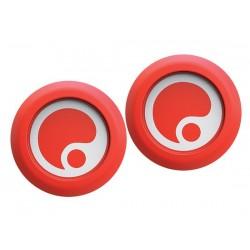 Accessori manopole Ergon GD1 Endplug rosso