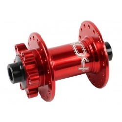 Mozzo anteriore Hope Pro 4 32 fori rosso 20mm