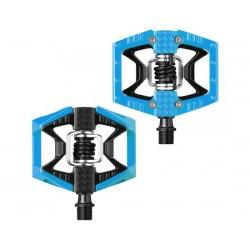 Pedali MTB sgancio rapido CrankBrothers Doubleshot e Limited Edition nero-blu