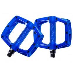 Pedali MTB flat DMR V8 blu