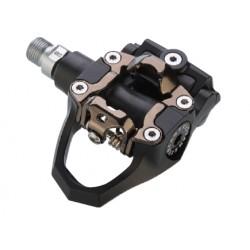 Pedali corsa EXUSTAR INDOOR E-PS207 87x90mm in alluminio nichelato